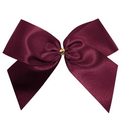 Satin Bow - 12cm - Burgundy - 100pk