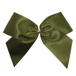 Satin Bow - 12cm - Avocado - 100pk