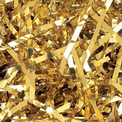 Foil Metallic Shreds - 1KG - Metallic Gold