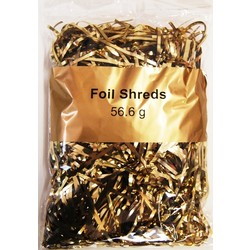 Foil Metallic Shreds - 56.6grams - Metallic Gold