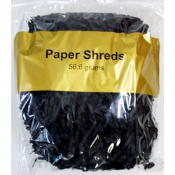Paper Crinkle Shreds - 56.6grams - Black