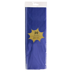 Tissue Paper - 20 Sheets - Royal Blue