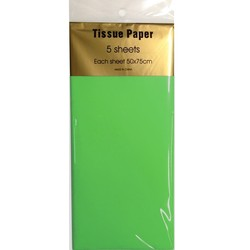 Tissue Paper - 5 sheet - Light Green