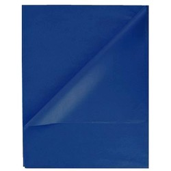 Tissue Paper Ream 750mm x 500mm, 480 Sheets - Dark Blue