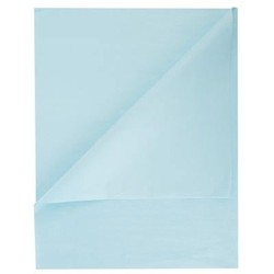 Tissue Paper Ream 750mm x 500mm, 480 Sheets - Light Blue