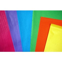 Tissue Paper Ream 750mm x 500mm, 480 Sheets - Bright Mix Assortment