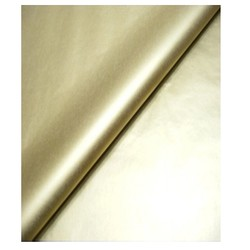 Tissue Paper Ream 750mm x 500mm, 240 Sheets - Metallic Gold