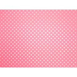 Tissue Paper Ream 750mm x 500mm, 240 Sheets - Pink Dots