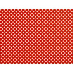 Tissue Paper Ream 750mm x 500mm, 240 Sheets - Red Dots
