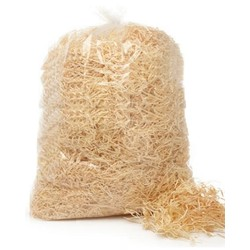 Wood Wool 3mm Shred - Bag - 1kg