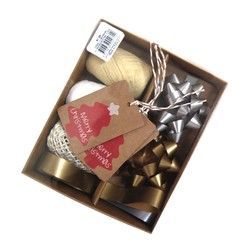 Christmas Gift Wrap Set - Gold & Silver