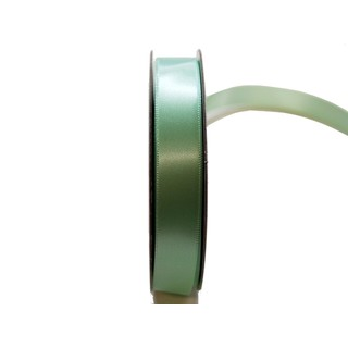 Satin Ribbon - Woven Edge -15mm x 30m - Mint