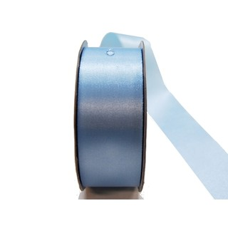 Water Repellent Satin Ribbon - 38mm x 45m - Light Blue
