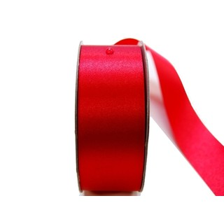 Water Repellent Satin Ribbon - 38mm x 45m - Red