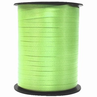 Crimped Curling Ribbon 5mm x 457m - Lime Green