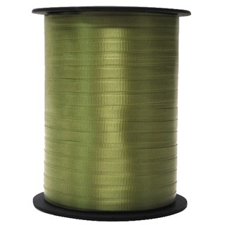 Crimped Curling Ribbon 5mm x 457m - Avocado