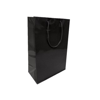 Gift Carry Bags - Glossy Black - Medium/Large
