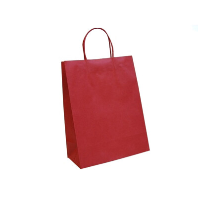 Kraft Bags - Medium - Red