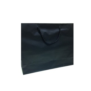 Gift Carry Bags - Matt Laminate Black - Boutique