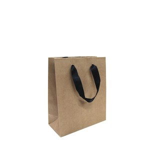 Kraft Bags - Premium Kraft Brown Small Mini Gift Bag