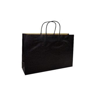 Kraft Bags - Small Boutique - Black