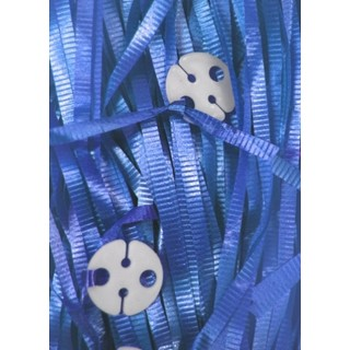 50pk Curling Ribbon & Seals - Royal Blue