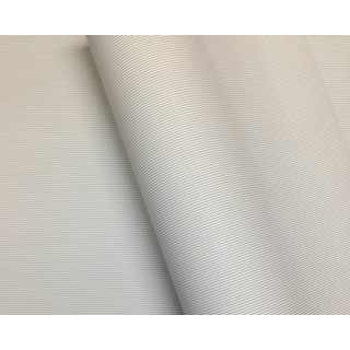 Wrapping Paper - 500mm x 60M - Silver Stripes