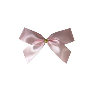 Satin Bow - 7cm - Light Pink - 100pk