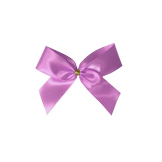 Satin Bow - 7cm - Dusty Rose - 100pk