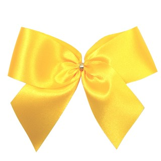 Satin Bow - 12cm - Gold - 100pk