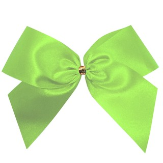 Satin Bow - 12cm - Light Green - 100pk