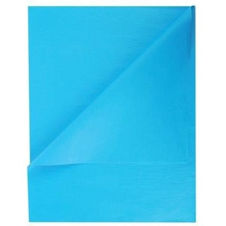 Tissue Paper Ream 750mm x 500mm, 480 Sheets - Turquoise Blue