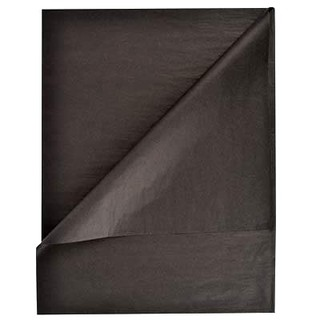Tissue Paper Ream 750mm x 500mm, 480 Sheets - Black