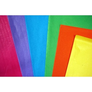 Tissue Paper Ream 750mm x 500mm, 480 Sheets - Assortment