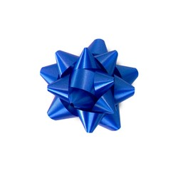 Mini Star Bows - 5cm - Blue