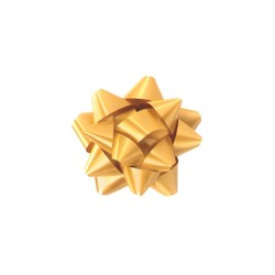 Mini Star Bows - 5cm - Gold