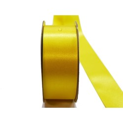 Water Repellent Satin Ribbon - 38mm x 45m - Yellow