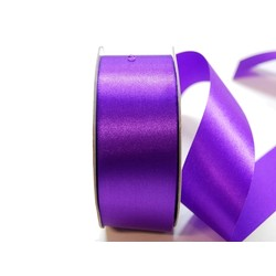 Water Repellent Satin Ribbon - 38mm x 45m - Violet
