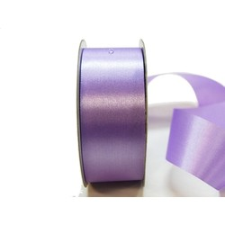 Water Repellent Satin Ribbon - 38mm x 45m - Lavender