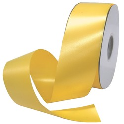 Florist Tear Ribbon - 50mm x 91m - Yellow