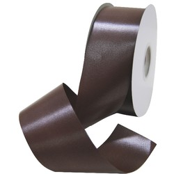 Florist Tear Ribbon - 50mm x 91m - Brown