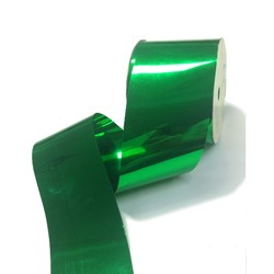 Metallic PVC Ribbon - 50mm x 30M - Green