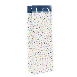Everyday Wine Bottle Bags - Multi Spot Design