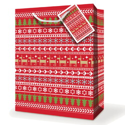 Christmas Bags - Christmas Motifs - Medium To Large