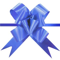 Pull String Butterfly Bows - Royal Blue