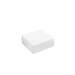 Mini Gift Box - Matt White with Magnetic Closing Lid