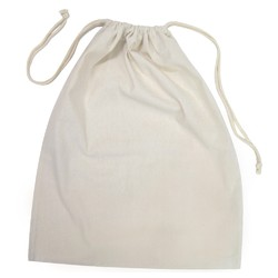 Natural Calico Bags 40cm x 50cm with drawstrings