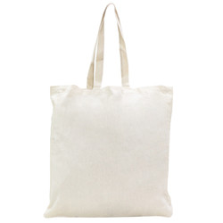 Calico Bags with Gusset - 37cm x 42cm x 10cm with two long handles