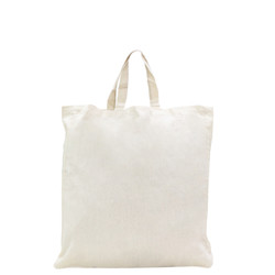 Natural Calico Bags with Gusset - 37cm x 42cm x 10cm with two short handles