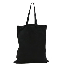 Black Calico Bags 37cm x 42cm with two long handles